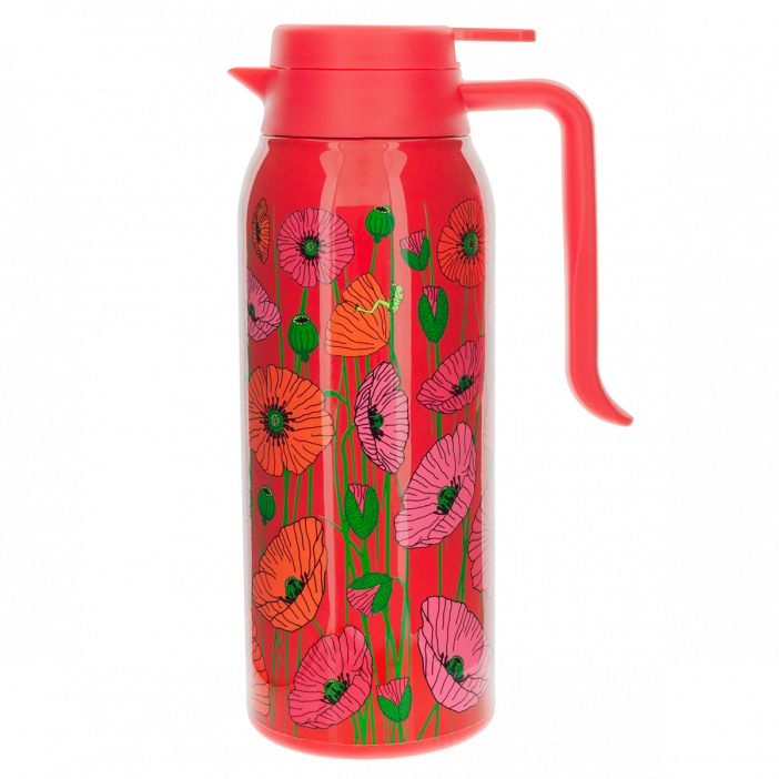 Thermal Jug 1,6 L - Keep Cool Family Coquelicots