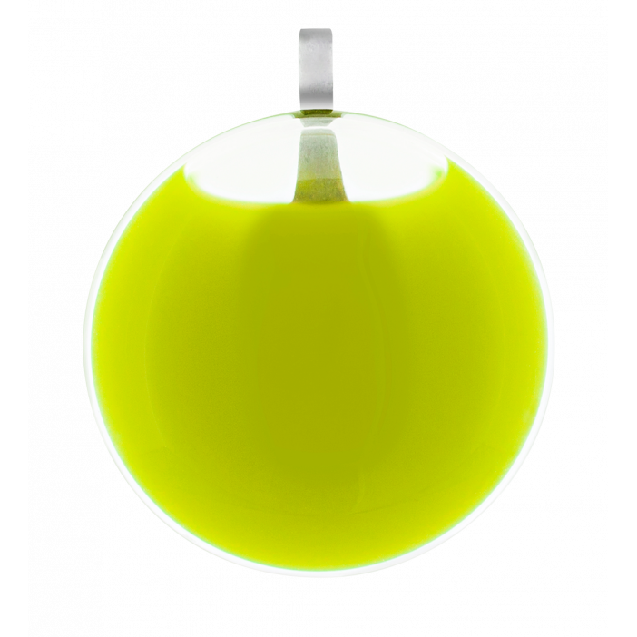 Necklace - Galet Mini Milk Light Green
