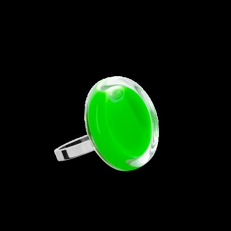 Anello in vetro - Cachou Nano Milk
