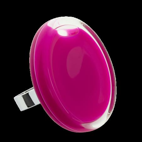 Glass ring - Cachou Giga Milk