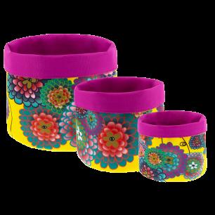 Set of 3 mutli-use nested baskets - Panier
