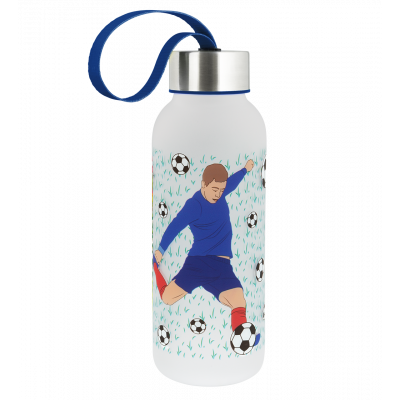 Trinkflasche 42 cl - Happyglou small Kinder - Fussball