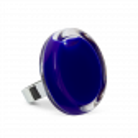 Glass ring - Cachou Medium Milk