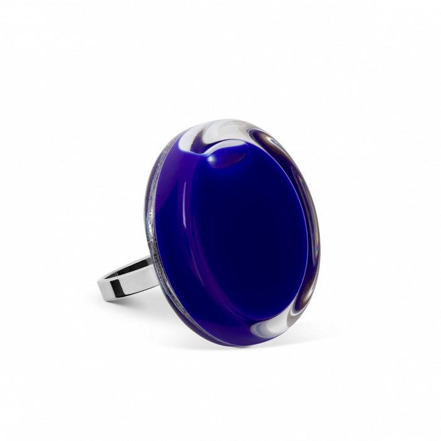 Glass ring - Cachou Mini Milk