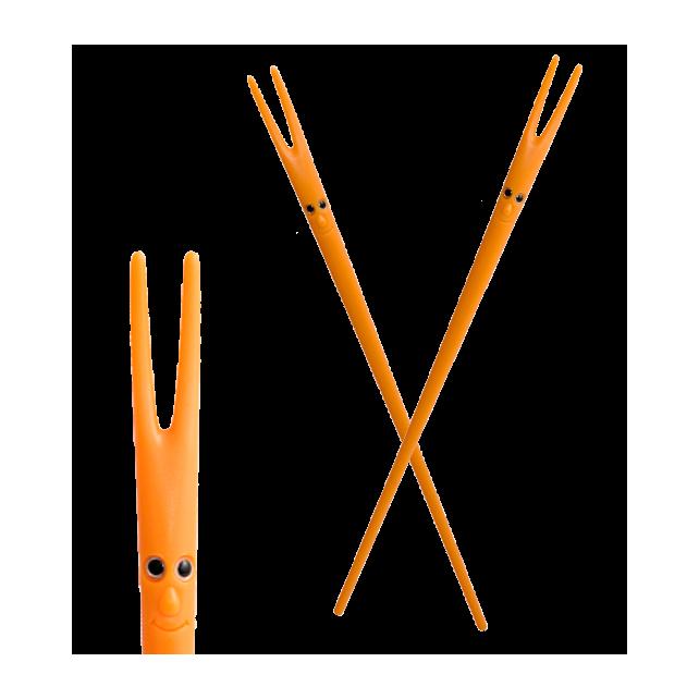 Essstäbchen - Ping Pong Orange