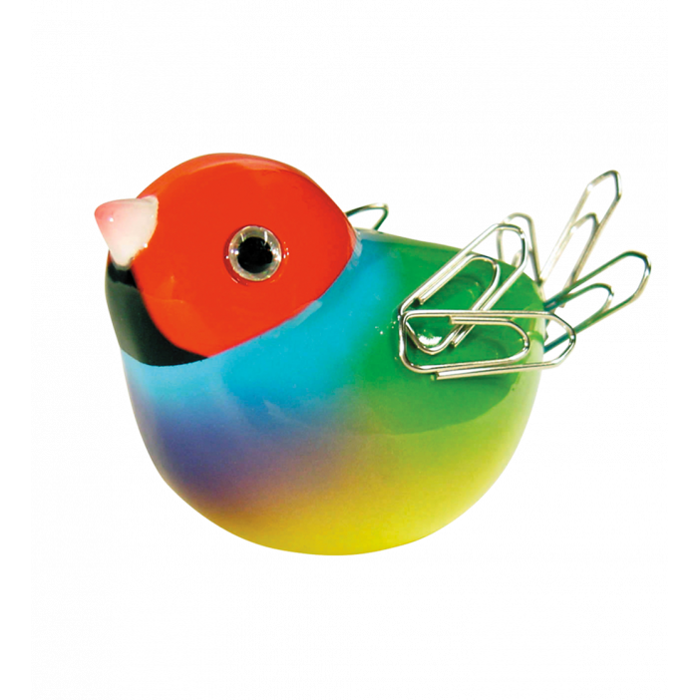 Oiseau aimant pour trombones - Piu Piu Rouge