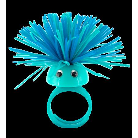 Ring - Pom Pom Girl Medium Blue