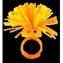 Pom Pom Girl Medium - Bague Orange