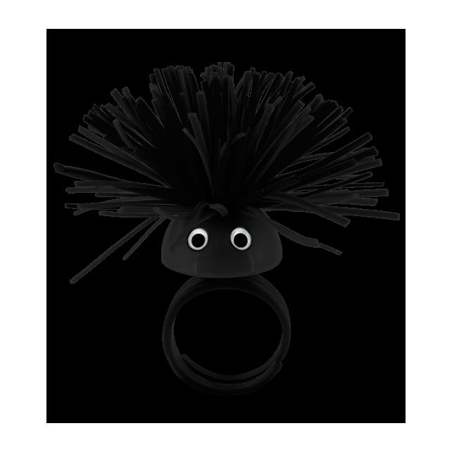 Ring - Pom Pom Girl Medium Black