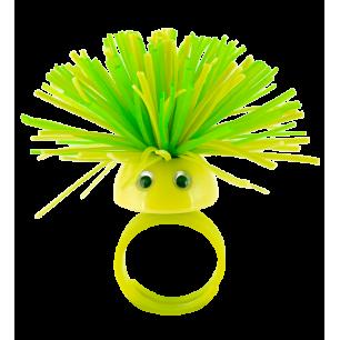 Ring - Pom Pom Girl Medium - Grün