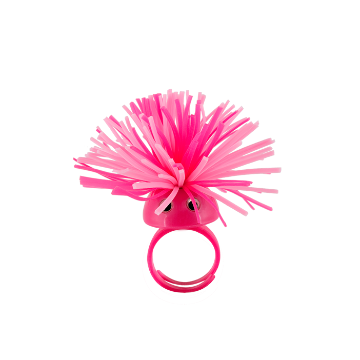 Pom Pom Girl Small - Bague Pink
