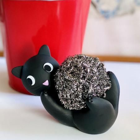 Metal sponge-holder - Max Le Ferrailleur Grey
