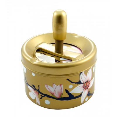 Push-button ashtray - Pousse Pousse - Magnolia