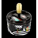 Push-button ashtray - Pousse Pousse Skull 3
