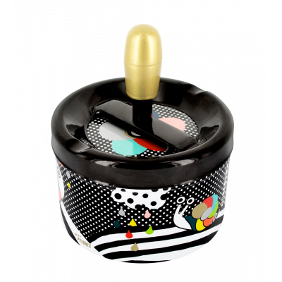 Push-button ashtray - Pousse Pousse - Scale