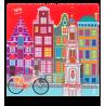 Belle Vue - Tissu microfibre pour lunettes Amsterdam