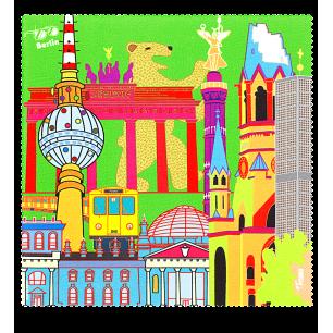Tissu microfibre pour lunettes - Belle Vue City - Berlin