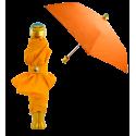 Rain Parade - Parapluie pliant Orange