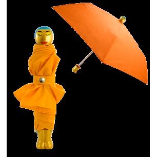 Ombrello pieghevole - Rain Parade - Arancione