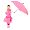 Taschenschirm - Rain Parade Rot