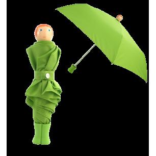Ombrello pieghevole - Rain Parade - Verde