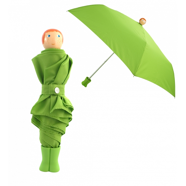 Taschenschirm - Rain Parade Grün