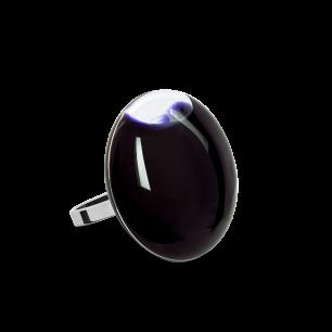 Glass ring - Galet Mini Milk