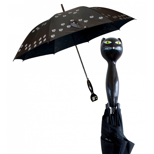Raincat 2 - Parapluie Schwarz