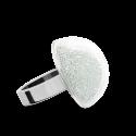 Bague en verre soufflée - Dome Mini Billes