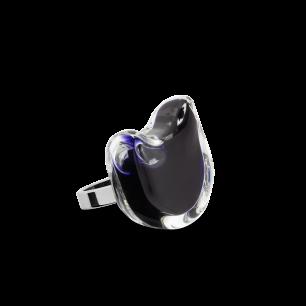 Anello in vetro - Gatto Nano Milk