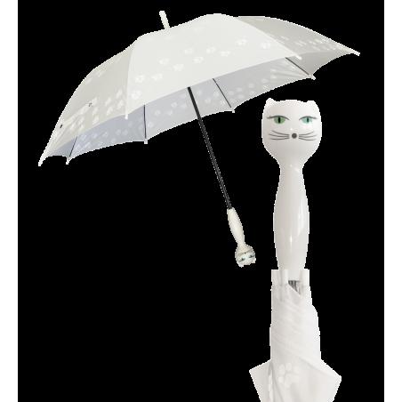 Raincat - Regenschirm Weiss