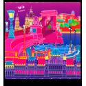 Mikrofasertuch - Belle Vue City Amsterdam