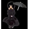 Rainette - Parapluie pliant Noir