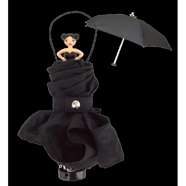 Rainette - Parapluie pliant Schwarz