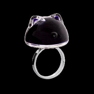 Glass ring - Cat Bulle Medium Milk