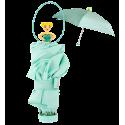 Ombrello pieghevole - Rainette Viola