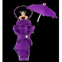 Rainette - Parapluie pliant Violet