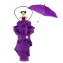 Rainette - Parapluie pliant Viola