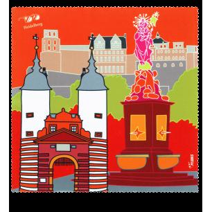 Tissu microfibre pour lunettes - Belle Vue City - Heidelberg