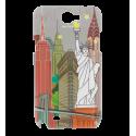 Schale für Samsung N2 - Sam Cover N2 Parisienne