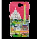 Sam Cover N2 - Coque pour Samsung N2 Paris rose
