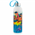 Flask 80 cl - Happyglou Large Orchid Blue