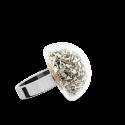 Glasring - Dome Mini Paillettes