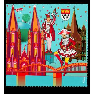 Tissu microfibre pour lunettes - Belle Vue City - Köln