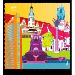 Tissu microfibre pour lunettes - Belle Vue City - Leipzig