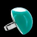 Glass ring - Dome Giga Milk