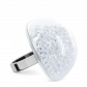 Glass ring - Dome Giga Billes