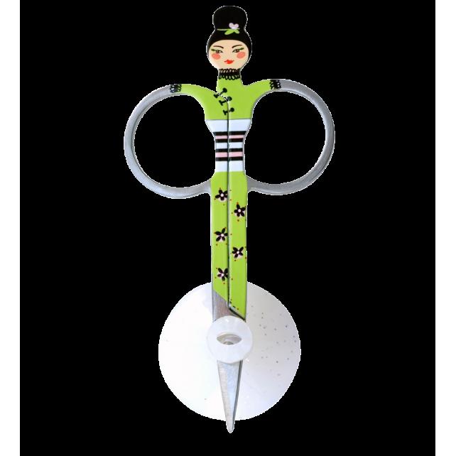 sissikut nail scissors green pylones. Black Bedroom Furniture Sets. Home Design Ideas
