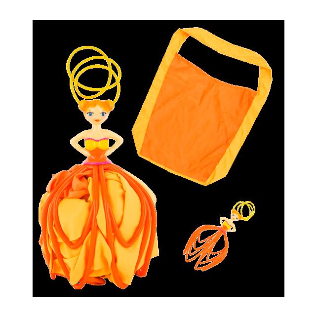 Shopinette - Sac de courses Orange