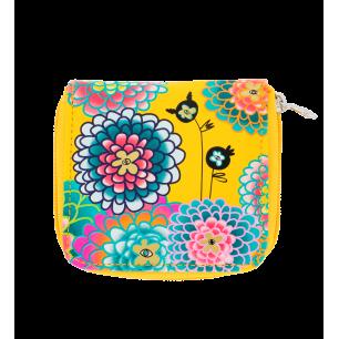 Kleine Brieftasche - Voyage - Dahlia